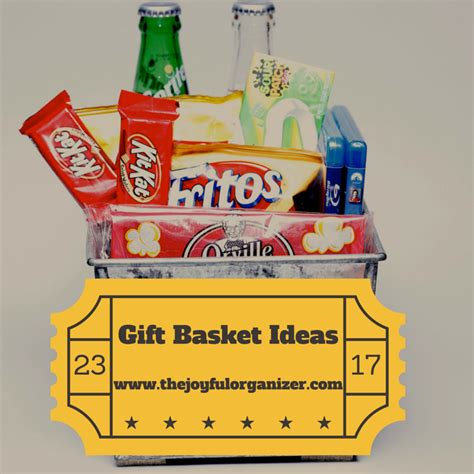 how to make a gift basket how to make an awesome gift basket the joyful organizer