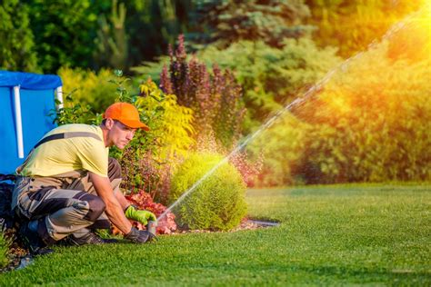how to adjust your sprinkler system for fall