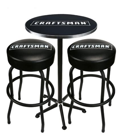 Craftsman Pub Tabletwo Stool Combo by Craftsman Pub Table And 2 Stools Combo Shop Your Way