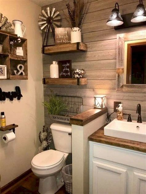 luxury farmhouse bathroom design  decor ideas