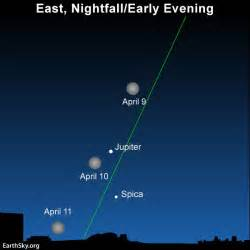 moon april 2017 moon and jupiter meet in virgo tonight earthsky