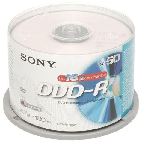Dvd R 16x Sony Printable Isi 50 blank cd dvd and dvd media ebuyer