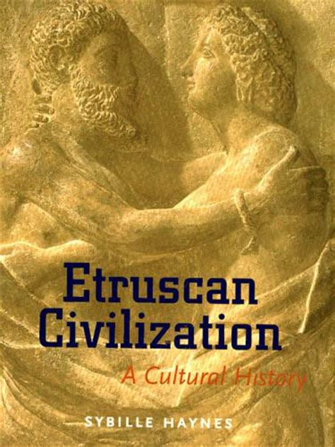 etruscan civilization  cultural history  getty store