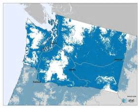 maps at t lte in wa with and without t mobile geekwire