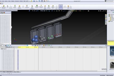 tutorial solidworks motion study solidworks ball separator classifier motion study