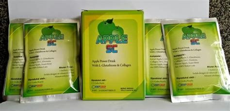 Jual Rwp Apple Stem Cell Plus With Collagen L Glutathione rwp apple stem cell plus with collagen l glutathione bpom
