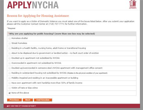 Apartment Application Help Nycha Application Question 2015 Apartment Rent New