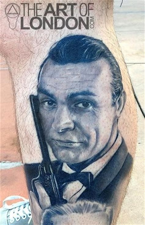 sean connery tattoo 15 of the best and worst bond tattoos