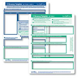Complyright I 9 Accuracy Template 8 12 X 11 White By Office Depot Flyer Templates