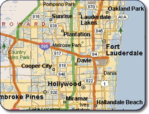 fort lauderdale map florida pin mapa de ta florida on