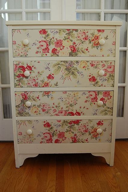 Decoupage Fabric On Wood Furniture - meble decoupage w twoim mieszkaniu investdom