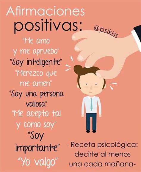 imagenes autoestima positiva las afirmaciones positivas cambiar 225 n tu forma de pensar y