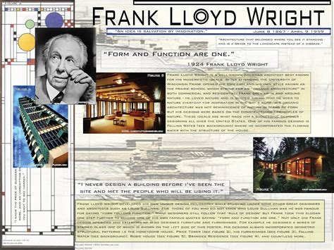 frank lloyd wright biography video katie rohrbach interiors frank lloyd wright bio