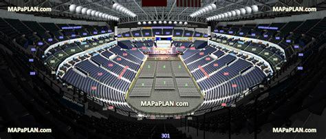 Floor Plan Virtual Tour by Bridgestone Arena View From Section 311 Row M Seat