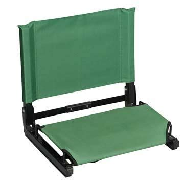 stadium chair color forest green walmart