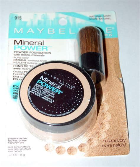 Maybelline Powder Foundation maybelline mineral power powder foundation color