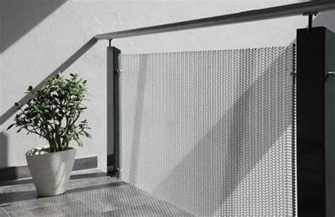 banister netting decorative wire mesh for indoor and outdoor railing use