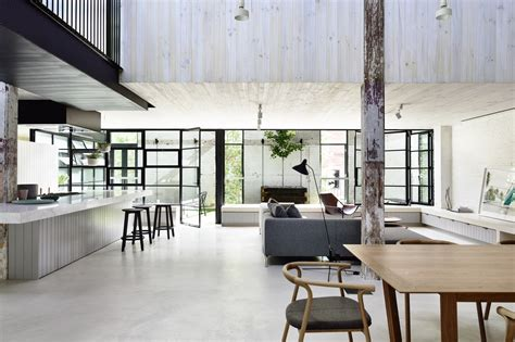 industrial style house plans modern urban residence st kilda melbourne cos interiors pty ltd