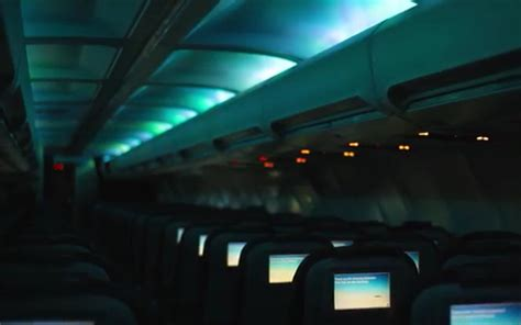 icelandair airplanes with interior led lighting