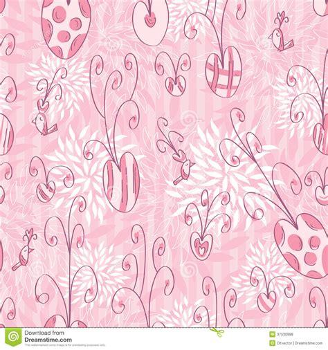 doodle pattern illustrator pink love doodle seamless pattern eps royalty free stock