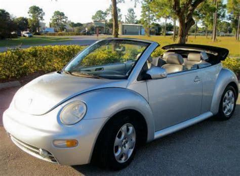 volkswagen beetle gls convertible    west florida cheap cars  sale