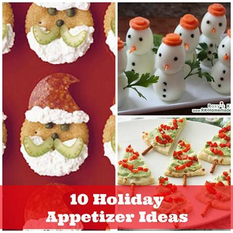 delicious holiday appetizer ideas diycraftsguru