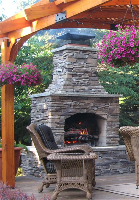 Fireplace Kits Outdoor by Outdoor Fireplace Kits Masonry Fireplaces
