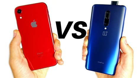 apple iphone xr  oneplus  pro youtube
