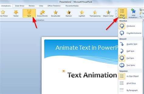 microsoft powerpoint layout text effects new how to animate text in powerpoint slide
