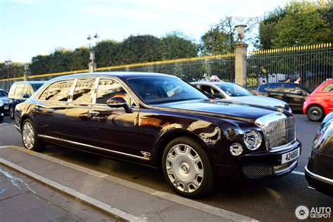 bentley limo bentley mulsanne grand limousine 9 october 2016 autogespot