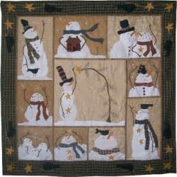 free snowman quilt pattern block of the month