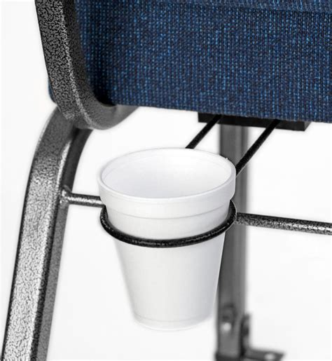 Chair With Cup Holder by Add On Coffee Cup Holder Church Chairs By Bertolini