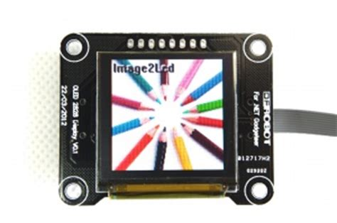 oled 2828 color display module net gadgeteer compatible sku toy0005 dfrobot electronic