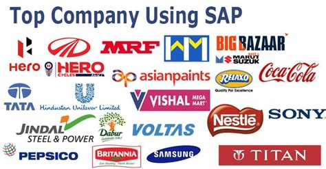 Supplier Shema Top By Hana top companies using sap software in india