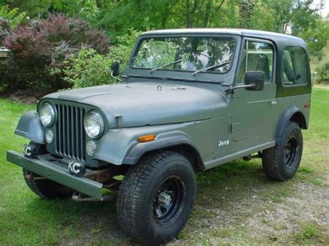 Jeep Parts Michigan Purchase Used 1979 Jeep Cj7 Hardtop Softtop Plus Many