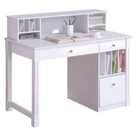 Desk With Small Hutch White Desk With Small Hutch Muebles