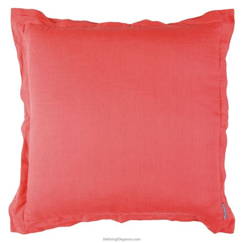 lili alessandra coral linen with white pillows