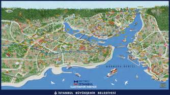 map of attractions istanbul tourist map attraction sightseeing pdf 2018