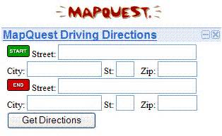 Mapquest Driving Directions Maps » Home Design 2017
