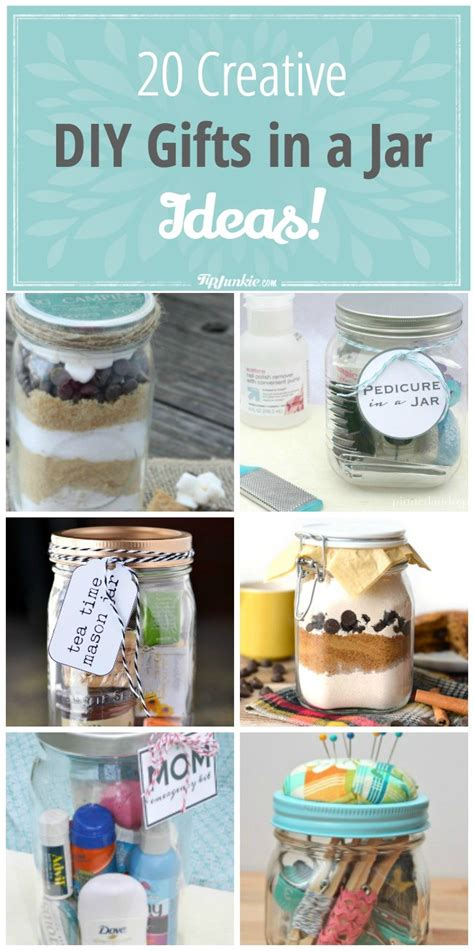 20 creative diy gifts in a jar ideas tip junkie