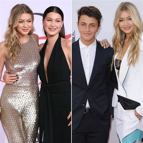 celebrity couples celebrity siblings gigi bella and anwar hadid celebrities with their