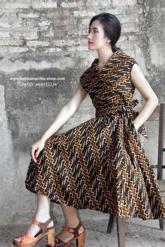 Dress Batik Keris Anak No 4 dress tenun lurik lulu lutfi jogjakarta fashion