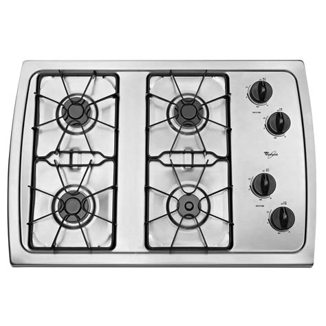 30 Gas Cooktop Whirlpool W3cg3014xs 30 Quot Gas Cooktop Sears Outlet
