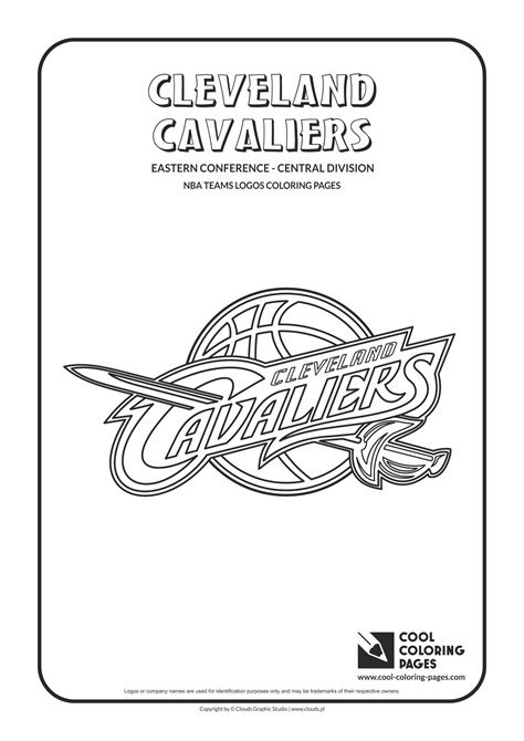 coloring pages nba team logos cool coloring pages cleveland cavaliers nba basketball