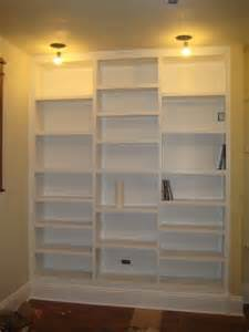 Build Built In Bookshelves Diy Built In Bookcases Living Room Dining Room Makeover