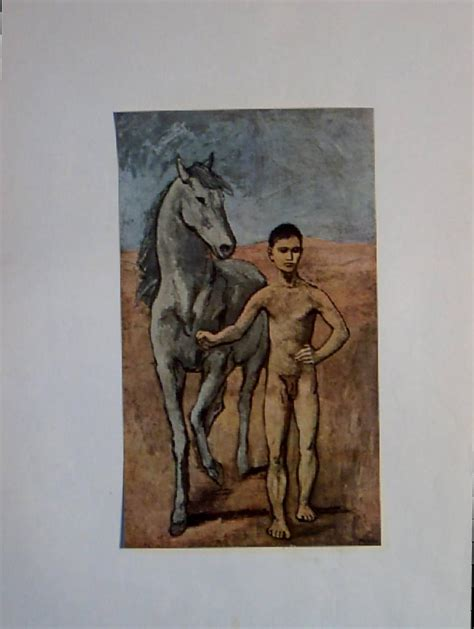 picasso paintings boy and picasso s boy leading a from carolines collectibles