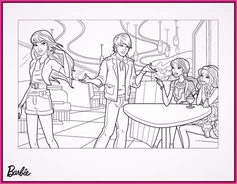 imagenes a blanco y negro de princesas dibujos para colorear de barbie y ken de portada fotos