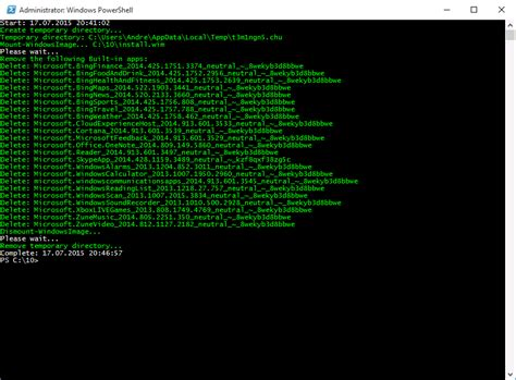 install windows 10 built in apps windows 10 removing built in apps mit powershell wim