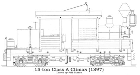 Home Plans Craftsman List Of Published Drawings Climax Locomotives