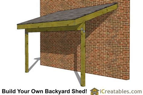 lean  shed plans  lean  open side shed